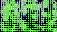 Check Symbol Green Blue Background 2, PERFECT LOOP - HD1080 Stock Footage