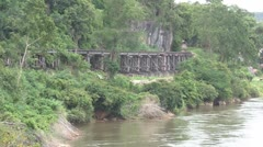 Death Railway Thailand Stock Footage