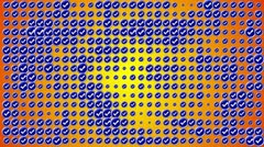 Check Symbol Blue Yellow Background 3, PERFECT LOOP - HD1080 Stock Footage