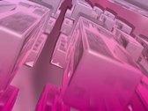 Falling Blocks Background Loop Stock Footage
