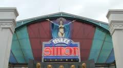 Simon Cabaret Phuket Stock Footage