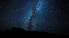 Star Time Lapse - stock footage