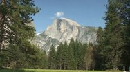 Stock Video Footage of Half Dome Meadow