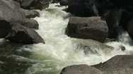 Stock Video Footage of Narrow Rapids