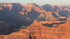 Grand Canyon at Sunset Stock Footage