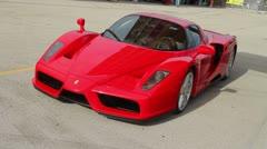Ferrari Enzo Stock Footage