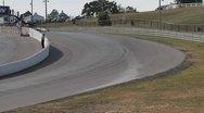 Huge race crash Stock Footage