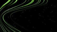 Green lines Stock Footage