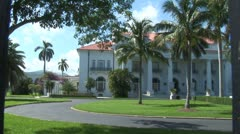 WorldClips-Flagler House-zooms Stock Footage