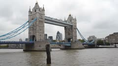 Tower Bridge London Stock Footage