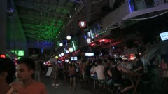 Beer Bars in Patong, Phuket, Thailand Stock Footage