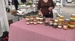 Sicilian Honey and others products. Stock Footage