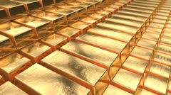 Gold treasure Stock Footage