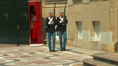 Honor guard Stock Footage
