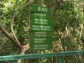 Stock Video Footage of WorldClips-Jungle Walkway Sign