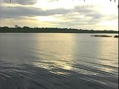 Stock Video Footage of WorldClips-Rio Negro Sunset-xws