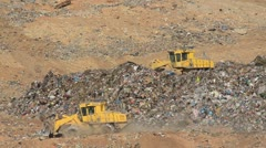 Stock Video Footage of Recycling Center