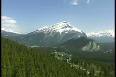 WorldClips-Banff Gondola-pov Stock Footage