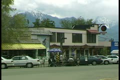 WorldClips-Invermere Street-4 Stock Footage