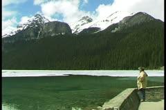 WorldClips-Lake Louise  Observer - stock footage