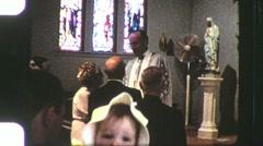 50th Wedding Anniversary Wedding Circa 1960 (Vintage Film Home Movie) 1174 Stock Footage