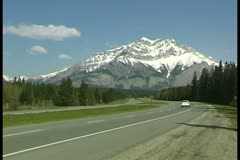 WorldClips-Trans Canadian Highway-2 - stock footage