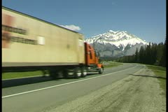 WorldClips-Trans Canadian Highway - stock footage