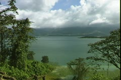 WorldClips-Lake Arenal Edgewater Stock Footage