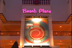 WorldClips-Beach Place Night Stock Footage