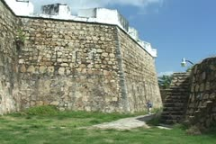 Fort San Diego wall - stock footage