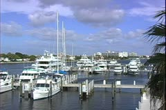 WorldClips-Canal Marina Stock Footage