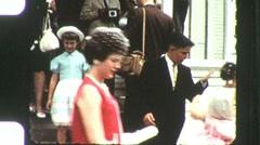 50th Wedding Anniversary Wedding Circa 1960 (Vintage Film Home Movie) 1175 Stock Footage