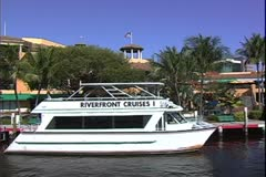 WorldClips-Riverfront-POV Stock Footage