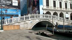 WorldClips-Doge Palace Bridge Stock Footage