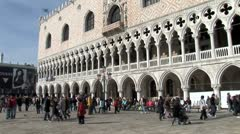 WorldClips-Doge Palace-ws-pan Stock Footage