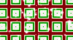 Christmas Kaleidoscope Loop No. 2 Stock Footage