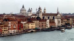WorldClips-La Giudecca Dawn-POV Stock Footage