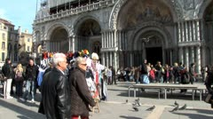 WorldClips-St.Marks Basilica Souvenirs-ws Stock Footage