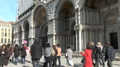 WorldClips-St.Marks Tourists Stock Footage