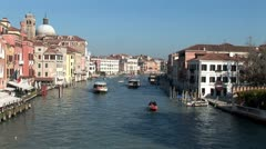 WorldClips-Upper Grand Canal-overhead-ws Stock Footage
