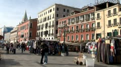 WorldClips-Venice Kiss-ws Stock Footage