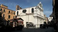 WorldClips-Venice Ornate Building-ws Stock Footage