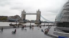 Tower Bridge London Stock Footage