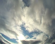 HD: clouds, changing weather. Stock Footage