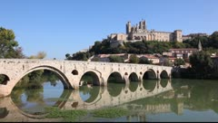 Beziers, France Stock Footage