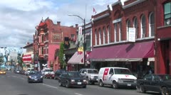 WorldClips-Market Square Street-ws Stock Footage