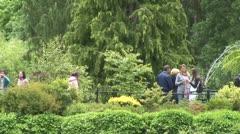 WorldClips-Sunken Garden Lookout-zoom Stock Footage