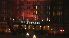 WorldClips-The Empress Night-zoom Stock Footage