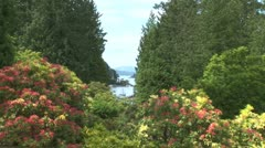 WorldClips-Vancouver Island Cove-xws-zooms Stock Footage