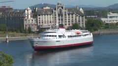 WorldClips-Victoria Large Ferry Stock Footage